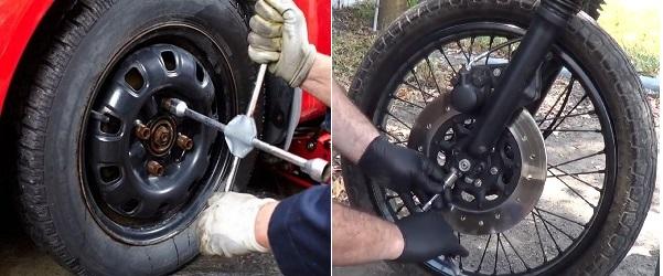 Roadside Assistance - Tire Change