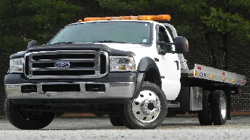 Flatbed Tow Truck - Motorcycle Towing LA